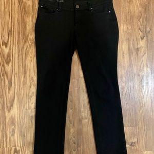 Ann Taylor black ponte knit pants